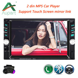 $enCountryForm.capitalKeyWord Australia - car dvd 2 din 6.6'' LCD Touch Screen 12V autoradio car audio auto radio player bluetooth Rear view camera mirror link with Frame Stand