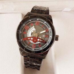 Luxury Mens Yellow Watches Australia - 2018 Luxury BOS brand Mens Watch Top quality Steel strip men quartz watches fashion designer mans large dial watch boss business Wristwatche