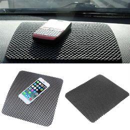 $enCountryForm.capitalKeyWord Australia - 1PCS Car Dashboard Anti-Slip Sticky Mat for Phone GPS Cards Black PVC Foam Non-slip Pad Accessories 22*19cm Sticky Pad
