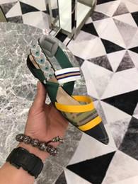 Toptan satış Kadın Ayakkabı Düz Sandalet, Lüks Ayakkabı, Tasarımcı Ayakkabı, Orijinal Yüksek Topuklar, Kadın Yüksek topuk ayakkabı, 5.5cm ile Orta, yüksek topuk 8.5 Mesh