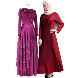 Club Clothes for girls online shopping - Yiwa Middle East Women Abaya Garment Muslim Robe Dress Islamic Abayas Dresses Clothing for Girl for Evening Casual Dressing Plus Size XL