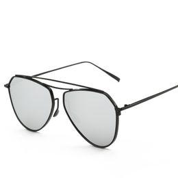 f9acfce486b Fashion Slim Metal Frame Sunglasses Good Quality Uv Protection Retro Oval  Glasses Luxury Design Men Women Popular Sunglasses