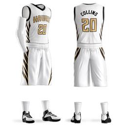 c0e15f8fb Conjuntos de baloncesto personalizados para hombres misma estrella John  Collins Camisetas de baloncesto del equipo personalizado Ben Simmons    00DIY ...
