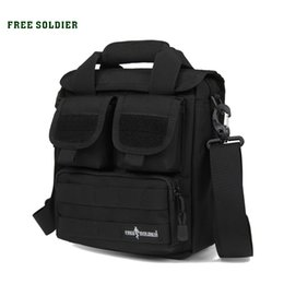 Bag tactical cordura online shopping - FREE SOLDIER Outdoor Sports Men s Tactical Handy Bags CORDURA Material YKK Zipper Single Shoulder Bags For Hiking Camping