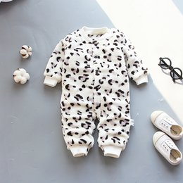 a6ee1956872 newborn baby rompers winter baby girls boys jumpsuit clothing infant babies  thick warm rompers toddler boys clothes coveralls
