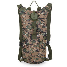 Chinese  Hot 2L Sport Water Bag Camelback Tactical Camel bag Backpack Hydration Military Backpack Pouch Rucksack Camping Pack Bicycle Bag manufacturers