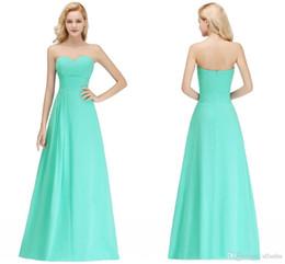 20b12f2b4fd Cheap Sleeveless Backless Bridesmaid Dresses 2019 Latest Elegant Sweetheart  Zipper Back Floor-Length Wedding Guest Prom Evening Wear Dress