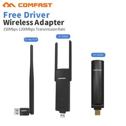 $enCountryForm.capitalKeyWord Australia - Network Cards Mini USB Adapter 150-1200Mbps Receiver Long range Wireless Network Card 802.11n b g ac WiFi Emit Transmitter Adaptor
