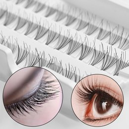 Discount cluster lash extensions - 8 10 12MM 60 Individual Fake False Eyelashes Cluster Black Eye Lashes Extension Makeup Cosmetic Beauty Tools maquiagem
