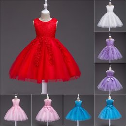 $enCountryForm.capitalKeyWord Australia - Kids Tutu Birthday Princess Party Dress Infant Lace Flower Girls Children Bridesmaid Dress Baby Clothes