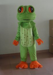 Frogs Shoes Australia - summer hot sale!! New Adult size big eyes frog mascot costume with suits shoes hands fancy party dress Halloween costume