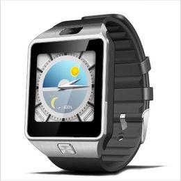 Smart Home Cameras Gsm Australia - DZ09 Bluetooth Smart Watch Smartwatch Android Phone Call Relogio 2G GSM SIM TF Card Camera for iPhone Samsung Huawei