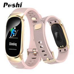 $enCountryForm.capitalKeyWord Australia - Women Sport Smart Watch Men LED Waterproof Smart Bracelet Heart Rate Blood Pressure Pedometer Smartwatch Clock For Android iOS