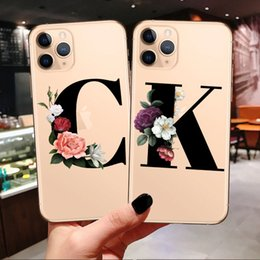 iphone phone charge case NZ - Custom New Phone Case For iPhone 11 Pro Max Wireless charging Fashion Customized initial Soft For iPhone X XR XS MAX 7 8 Plus