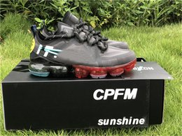 Wholesale 2019 Top Fashion Air Cactus Plant Flea Market x CPFM WMNS React Element Vapor Running Shoes CD7001 Authentic Sports Shoes Size
