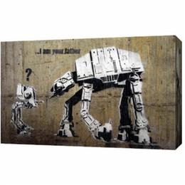 $enCountryForm.capitalKeyWord Australia - Banksy Graffiti Permission Pray,1 Pieces Home Decor HD Printed Modern Art Painting on Canvas (Unframed Framed)