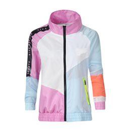 Nk Clothing Australia - Fashion Womens Designer NK Jackets Long Sleeve Panelled Color Coat Spring Autumn Womens Clothing