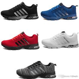 Venta caliente zapatos para hombre ocasionales para los hombres zapatillas de deporte de moda atlética del deporte del zapato de los corsés calientes que caminan que activan que caminan zapatos al aire libre tamaño 7-10.5 en venta