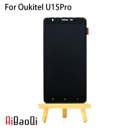 Discount oukitel 5.5 inch phones New Original 5.5 inch Touch Screen+1280X720 LCD Display Assembly Replacement For Oukitel U15 Pro Phone Android 6.0 MT675