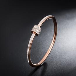 Fish Crystal Australia - Vintage Bracelet Crystal Opening Wrap Bracelets for Women Charm Gold Color Bridal Wedding Bangle Jewelry Gift