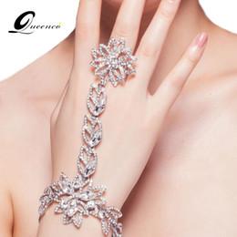 Wedding Rhinestone Hand Chain Australia - ashion Jewelry Bracelets Fahion Bridal Bracelet Rhinestone Hand Chain Charm Bracelets for Women Wedding Dress Accessories Prom Jewelry Gi...