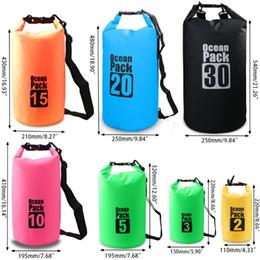 9c9b735375a 7 colors 2L-30L Ocean Pack Dry Bag Outdoor Drift Rafting Mobile Phone waterproof  Storage Bag Snorkeling Swim Dry Bag