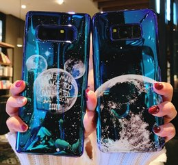 Planet Meteor Soft Case For Samsung Galaxy S8 S9 Note 8 Note 9 Cases Blue Light Cartoon Phone Back Cover For Samsung S9 S8 Plus Matching In Colour Fitted Cases