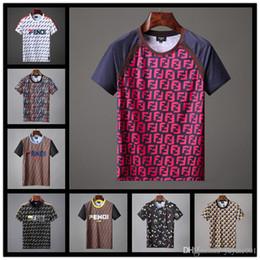 $enCountryForm.capitalKeyWord Australia - TOP fashion cartoon bear printed brand designer 2018 diamond t-shirt ring skull funny t shirts men casual Beads tee shirt men D30