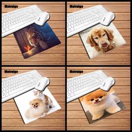 $enCountryForm.capitalKeyWord NZ - Mairuige produces cute dog tiger animal rubber mouse pad game player exclusive pad animal pattern design desktop rectangular non-slip mouse