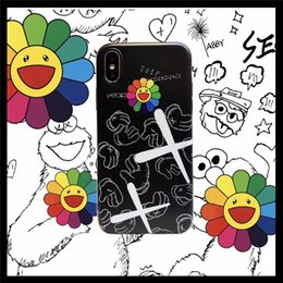 $enCountryForm.capitalKeyWord Australia - designer phone case Graffiti 6S Sunflower 8plus Apple X mobile phone shell iphonexsmax couple XR male and female soft shell 7