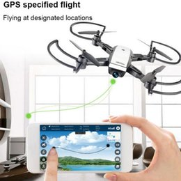 Drone Quadcopter Wifi NZ - LH-X28GWF Dual GPS FPV RC Drone Quadcopter with 1080P HD Camera LED light 200m Wifi Control Distance One key return function