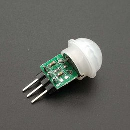 ir modules Canada - Consumer Electronics Mini IR Pyroelectric Infrared PIR Motion Human Sensor Automatic Detector Module AM312 Sensor DC 2.7 To 12V