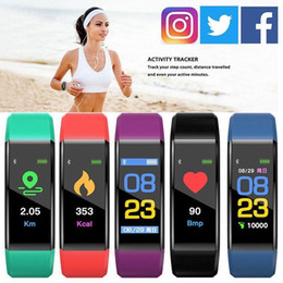 fit bit smart watch NZ - Health Bracelet Heart Rate Blood Pressure Smart Band Fitness Tracker Smartband Wristband for honor Band 3 fit bit Smart Watch
