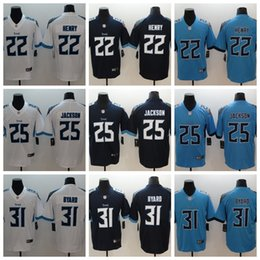 2019 Mens 22 Derrick Henry Tennessee Jersey Titans Football Jersey 100%  Stitched 31 Kevin Byard 25 Adoree Jackson Color Rush Football Shirt 7ef1e1fe0