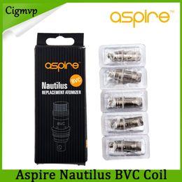 Bottom coils online shopping - Aspire Nautilus BVC Coil ohm ohm ohm for Aspire Nautilus Mini Clearomizer Replacement Bottom Vertical BVC Coil E cigarette DHL Free