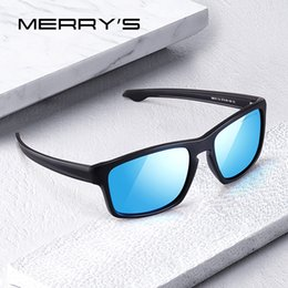 goggle eye fish Canada - MERRYS DESIGN Men Classic Polarized Sunglasses Male Sport Fishing Shades Spuare Mirror Eyewear UV400 Protection S3012