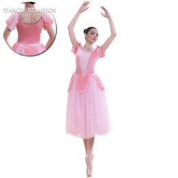 $enCountryForm.capitalKeyWord Australia - Top Selling Adult Girls Ballerina Costume Pink Velvet Ballet Dance Tutu Dresses 18701
