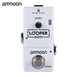 $enCountryForm.capitalKeyWord UK - ammoon AP-09 Nano Series Loop Electric Guitar Effect Pedal Looper True Bypass Unlimited Overdubs 10 Minutes Recording