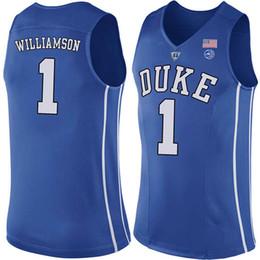 c00eb351c7b College University NCAA 1 Zion Williamson Duke Blue Devils College Jersey 5  RJ Barrett 2 Cameron Reddish J.J. 4 Redick Christian Laettner