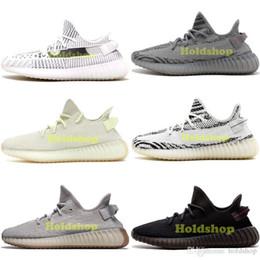 hot sale online a6626 f2499 2019 Static Adidas SPLY Yeezy 350 V2 La mejor calidad Kanye West Men  Running Shoes Butter Sesame Zebra Cream White Bred Black Mujer Sport  Designer Sneakers ...