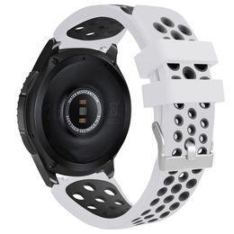 Discount suunto strap - Band For Samsung Galaxy Watch 46mm suunto 2019 Fashion Casual Men Women Watch Bands Double Color Sports Silicone Bracele
