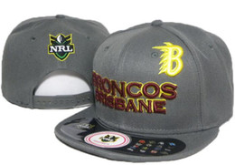 c9aa220906b Top Quality 2019 NRL Brisbane hat Broncos hat Snapback Hip-Hop Snapbacks  Adult Baseball Adjustable Caps Embroidery hats Free Shipping 04