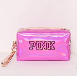 $enCountryForm.capitalKeyWord Australia - Laser Diy English Cosmetic Bag Simple with Large Capacity Receiving Bag Hand Waterproof Mini Ladys Change Wallet