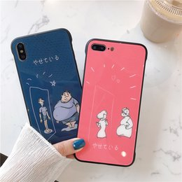 wholesale cell phone cases free shipping Australia - New design Toughened Glass Mobile Phone Case for iphone 7 8 plus x xs xr xsmas Cell Phone Shell free shipping