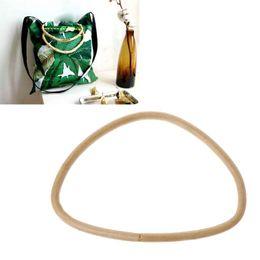 D Shape Bamboo Rattan Handle Purse Frame Handmade Bag Handle DIY Handbag  Accessories fc99065e53952