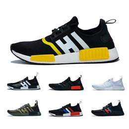$enCountryForm.capitalKeyWord Australia - New Tri-color Nmd R1 Atmos Thunder Bred Running Shoes Runner Primeknit Og Military Green Men Women Red Marble Runner Sports Sneakers 36-47