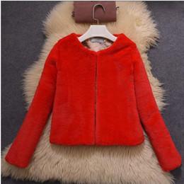 $enCountryForm.capitalKeyWord Australia - Autumn winter 2018 new women Thick Warm faux fur coat Slim Luxury fur coat multi-color short Long Sleeve women coats G905