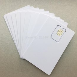 Wholesale 50pcs SIM USIM Card G LTE WCDMA GSM Blank Mini Nano micro writable programable SIM Card for Operator Milenage algorithm