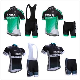 Wholesale BORA MTB Bike Jersey bib shorts set Ropa Ciclismo maillot men Cycling Clothing bicycle Top Bottom Racing Breathable