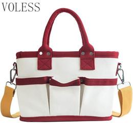 $enCountryForm.capitalKeyWord Australia - Women Canvas Shoulder Bags Girls Wide Shoulder Strap Casual Large Capacity Shopping Travel Totes Female Handbags Bolsa Feminina